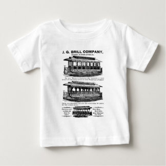 Brill Company Streetcars and Trolleys Baby T-Shirt