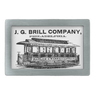 Brill Company Streetcars and Trolleys Belt Buckles