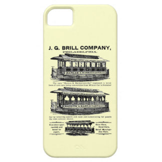 Brill Company Streetcars and Trolleys iPhone 5 Cover