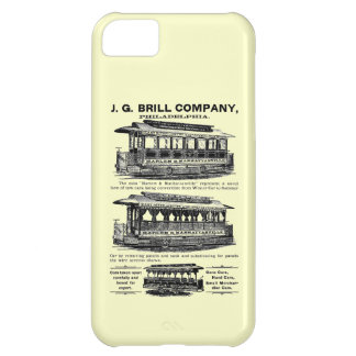 Brill Company Streetcars and Trolleys Case For iPhone 5C