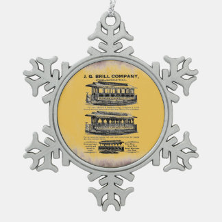 Brill Company Streetcars and Trolleys Ornaments