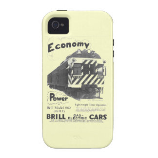 Brill Light-Weight  Passenger Train 1932 iPhone 4 Cover