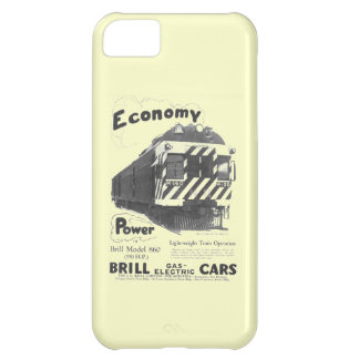 Brill Light-Weight Passenger Train 1932 Cover For iPhone 5C