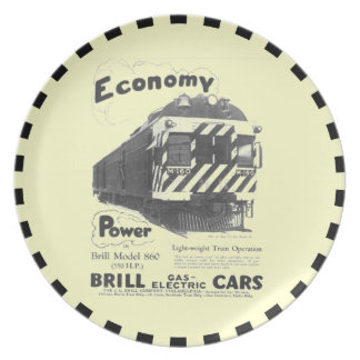 Brill Light-Weight  Passenger Train 1932 Plates
