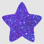 Brillante infinito del universo de la chispa del colcomanias forma de estrellaes personalizadas
