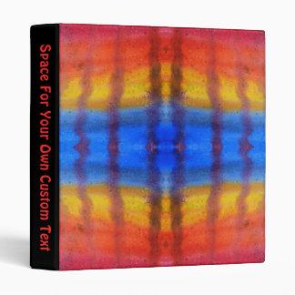 """Brillante y colorido. Modelo rojo, azul y amarillo Carpeta 1"""""""