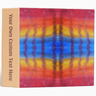 """Brillante y colorido. Modelo rojo, azul y amarillo Carpeta 2"""""""