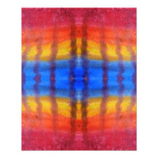 Brillante y colorido Modelo rojo azul y amarillo Tarjetones