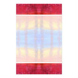 Brillante y colorido Modelo rojo azul y amarillo Flyer A Todo Color