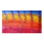 Brillante y colorido. Modelo rojo, azul y amarillo Tarjetas De Visita