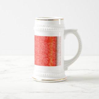 Brillantez AMBARINA caliente - añada su texto en b Taza De Café