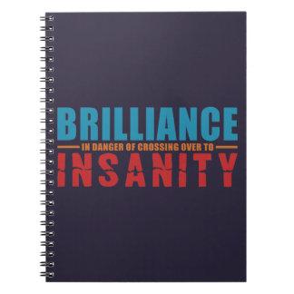 BRILLANTEZ CONTRA el cuaderno del personalizado de