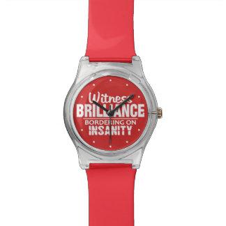 BRILLANTEZ CONTRA los relojes de encargo del color