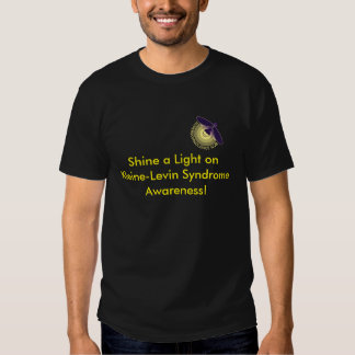 Brille una luz en la camiseta del síndrome de playeras