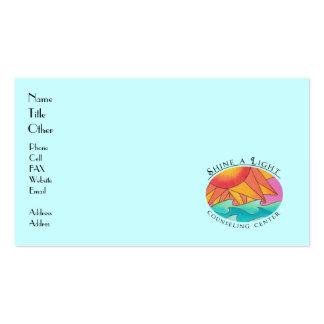 Brille una tarjeta de visita ligera 5