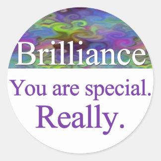 Brilliance Stickers