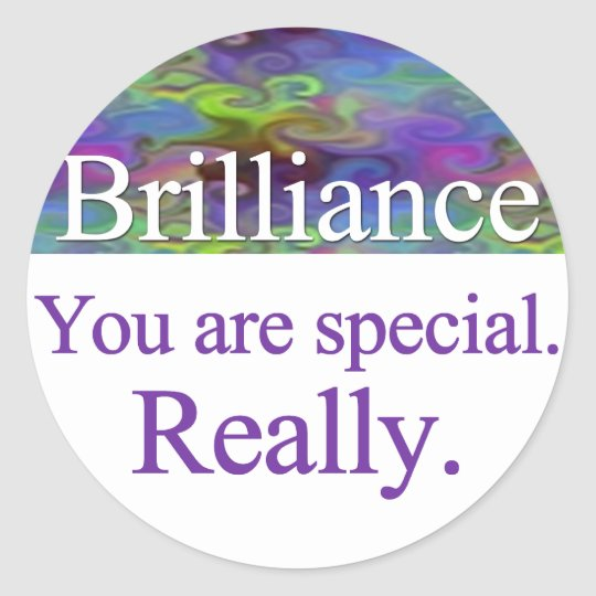 Brilliance Stickers