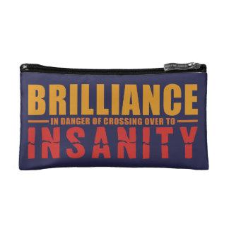 BRILLIANCE VS INSANITY custom accessory bags