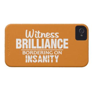 BRILLIANCE VS INSANITY custom iPhone case