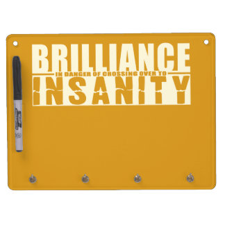 BRILLIANCE VS INSANITY custom message board