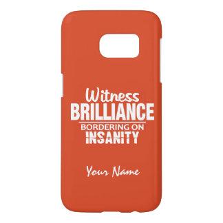 BRILLIANCE VS INSANITY custom name & color cases