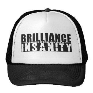 BRILLIANCE VS INSANITY hat - choose color