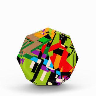 Brilliant Abstract Design Acrylic Award