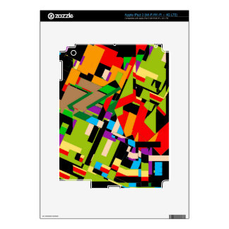 Brilliant Abstract Design Decal For iPad 3
