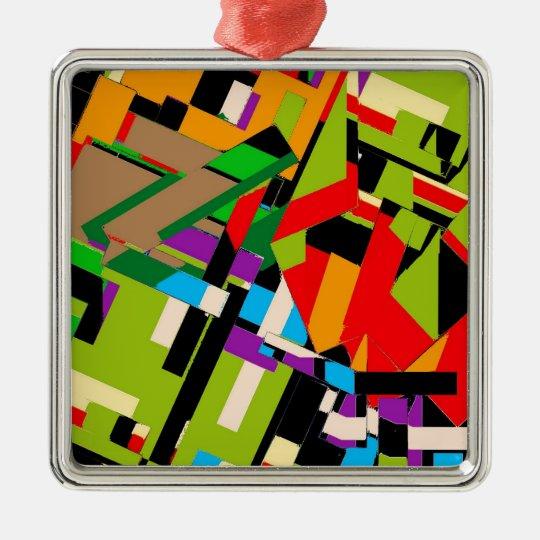 Brilliant Abstract Design Metal Ornament
