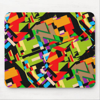 Brilliant Abstract Design Mouse Pad