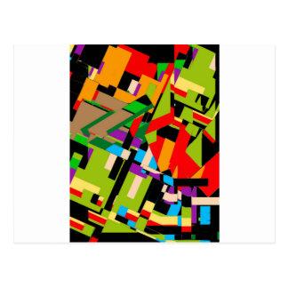 Brilliant Abstract Design Postcard