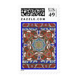 Brilliant Ancient Tadjik Design Postage Stamp