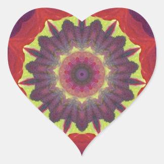 Brilliant and Unique Color Design products Heart Sticker