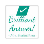 """[ Thumbnail: """"Brilliant Answer!"""" Commendation Rubber Stamp ]"""