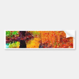 Brilliant Autumn Bumper Sticker