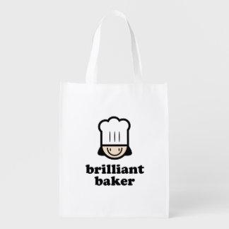 Brilliant Baker Reusable Grocery Bag