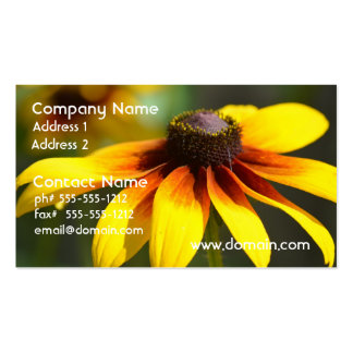 Brilliant Black Eyed Susans Business Card Templates