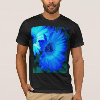 Brilliant Blue Daisies T shirt