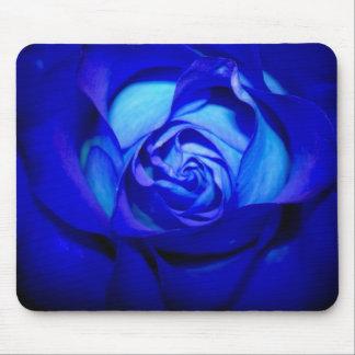 Brilliant Blue Rose mousepad