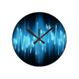 clock with soundwave