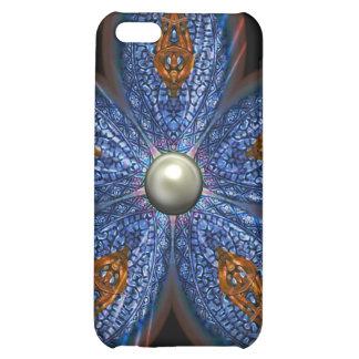 Brilliant Blues Batik Case For iPhone 5C