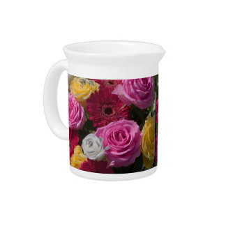 Brilliant Bouquet Pitcher