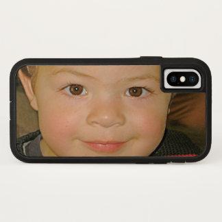 Brilliant Color Custom Photo iPhone X Case