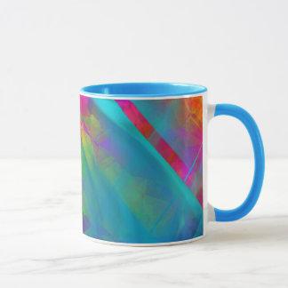 Brilliant color mugs