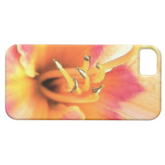 Brilliant Coral Daylily iPhone SE/5/5s Case