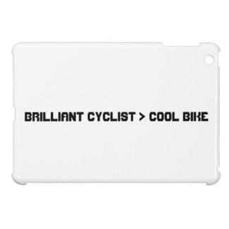 Brilliant Cyclist Greater Than Cool Bike. iPad Mini Case