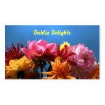Brilliant Dahlias Business Card