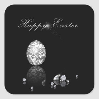 Brilliant Easter Egg - Magnet Square Sticker