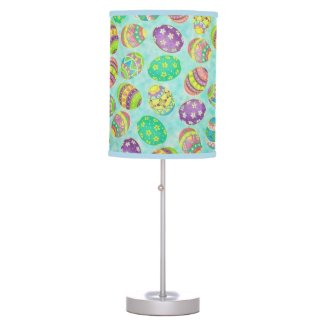 Brilliant Easter Eggs Table Lamp