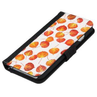 Brilliant Fallen Aspen Leaves iPhone 6/6s Wallet Case